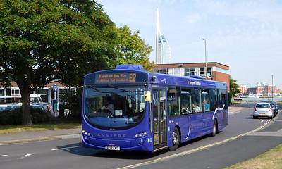 First Solent 69543 - BF12KWG - Gosport (bus station)