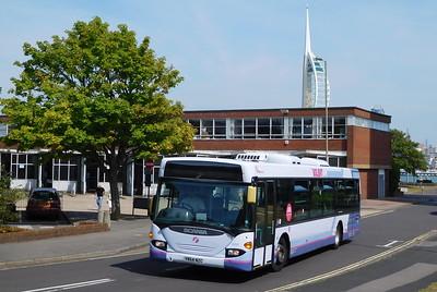 First Solent 65007 - YN54NZC - Gosport (bus station)