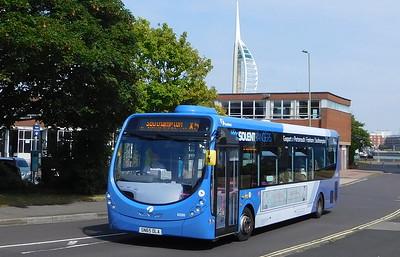 First Solent 63299 - SN65OLA - Gosport (bus station)
