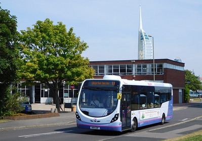 First Solent 47579 - SN14EBP - Gosport (bus station)