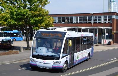 First Solent 53608 - YJ14BKN - Gosport (bus station)