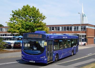 First Solent 69549 - BF12KWK - Gosport (bus station)
