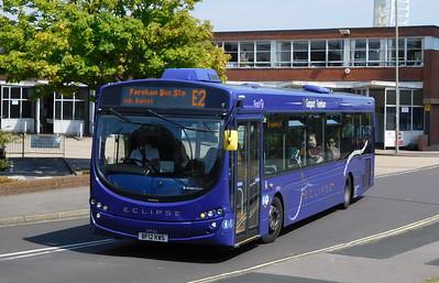 First Solent 69554 - BF12KWS - Gosport (bus station)