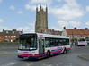 First in Bristol & Avon 66108 - R908BOU - Wells (bus station) - 30.7.14