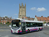 First in Bristol & Avon 69448 - WX59BZB - Wells (bus station) - 30.7.14