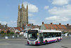 First in Bristol & Avon 69443 - WX59BYV - Wells (bus station) - 30.7.14