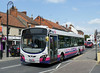 First in Bristol & Avon 69446 - WX59BYZ - Glastobury (town centre) - 30.7.14