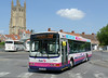 First in Bristol & Avon 66206 - S806RWG - Wells (bus station) - 30.7.14