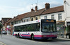 First in Bristol & Avon 66106 - R906BOU - Glastobury (town centre) - 30.7.14