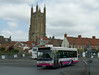 First in Bristol & Avon 43849 - SN05HEJ - Wells (bus station) - 30.7.14
