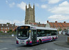 First in Bristol & Avon 69447 - WX59BZA - Wells (bus station) - 30.7.14