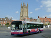 First in Bristol & Avon 66107 - R907BOU - Wells (bus station) - 30.7.14
