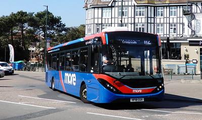 GSC Morebus 232 - HF18CGX - Bournemouth (Bath Road)