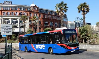 GSC Morebus 245 - HF18CHX - Bournemouth (Gervis Place)