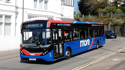GSC Morebus 231 - HF18CGV - Bournemouth (Hinton Road)
