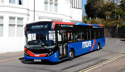 GSC Morebus 225 - HF67EUH - Bournemouth (Hinton Road)