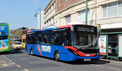 GSC Morebus 243 - HF18CHO - Bournemouth (Gervis Place)
