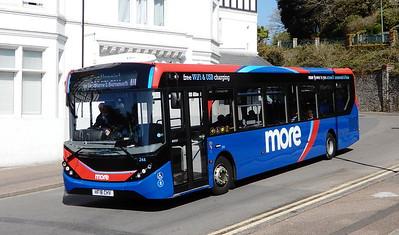 GSC Morebus 244 - HF18CHV - Bournemouth (Hinton Road)