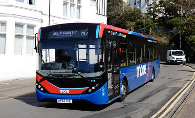 GSC Morebus 224 - HF67EUE - Bournemouth (Hinton Road)