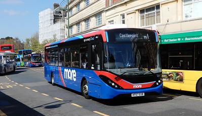 GSC Morebus 221 - HF67EUB - Bournemouth (Gervis Place)