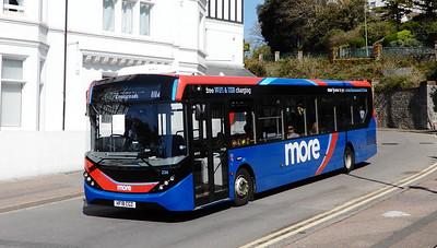 GSC Morebus 234 - HF18CGZ - Bournemouth (Hinton Road)