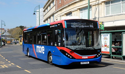 GSC Morebus 226 - HF67EUL - Bournemouth (Gervis Place)