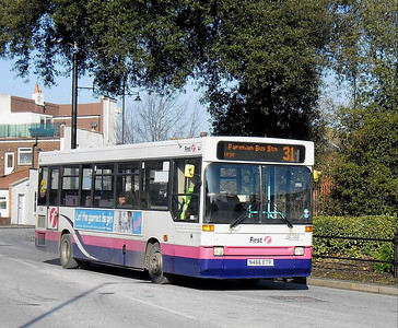 First Hants & Dorset 46366 - N466ETR - Fareham (Hartlands Rd) - 11.2.12