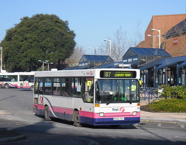 First Hants & Dorset 46322 - M322YOT - Fareham (bus station) - 11.2.12