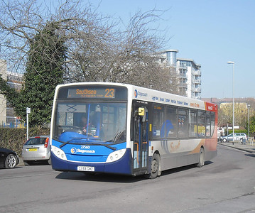 Stagecoach South 27560 - GX58GMZ - Cosham (Highbury Buildings) - 11.02.12