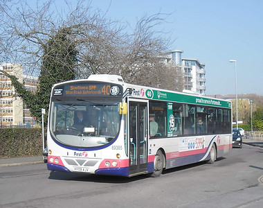 First Hants & Dorset 69385 - HY09AJV - Cosham (Highbury Buildings) - 11.02.12