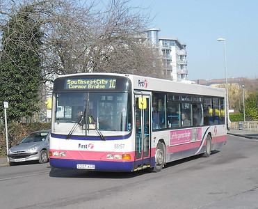 First Hants & Dorset 66157 - S357XCR - Cosham (Highbury Buildings) - 11.02.12