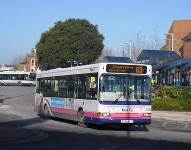 First Hants & Dorset 42134 - S634KTP - Fareham (bus station) - 11.2.12