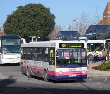 First Hants & Dorset 46318 - M318YOT - Fareham (bus station) - 11.2.12