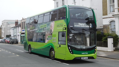 Southern Vectis 1663 - HW67AJU - Ryde (George St)