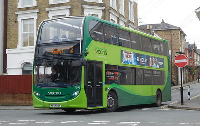 Southern Vectis 1596 - HF64BSX - Ryde (Park Road)