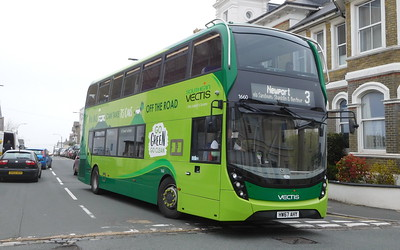 Southern Vectis 1660 - HW67AHY - Ryde (George St)