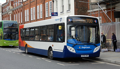 Stagecoach South 27556 - GX58GMO - Chichester (West St)