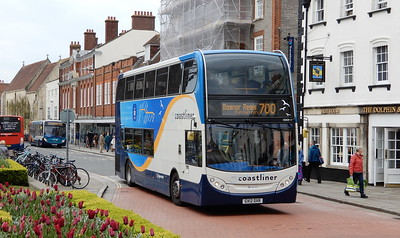 Stagecoach South 10009 - GX12DXR - Chichester (West St)