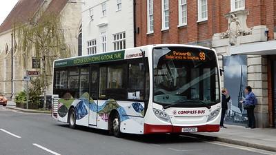 Compass Bus 4110 - GX13FSS - Chichester (West St)
