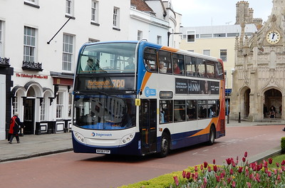 Stagecoach South 19077 - MX56FTP - Chichester (West St)