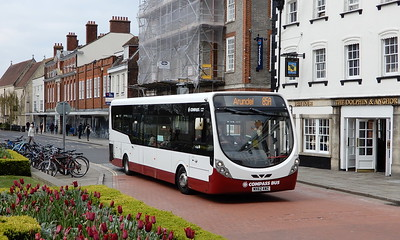 Compass Bus 2110 - MX62AWZ - Chichester (West St)