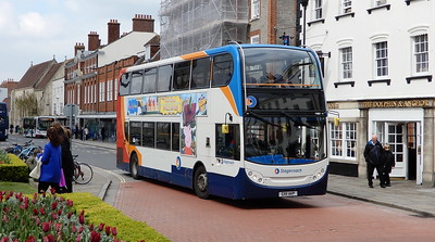 Stagecoach South 19887 - GX11AKP - Chichester (West St)