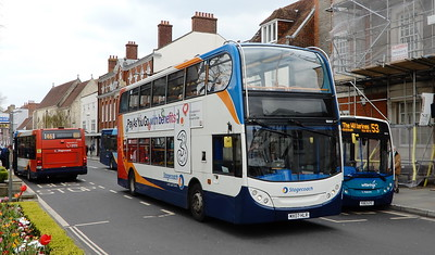 Stagecoach South 19097 - MX07HLR - Chichester (West St)