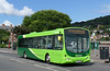Buses of Somerset (FDC) 69012 - SF55UAD - Minehead (West Somerset Railway station) - 28.7.14