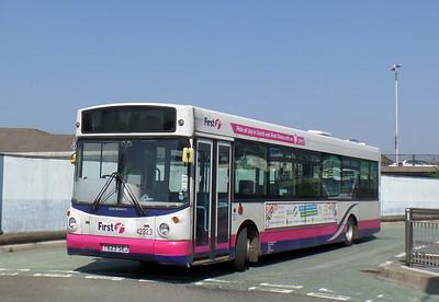First Cymru 42323 - T623SEJ - Bridgend (bus station)