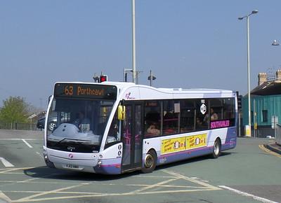 First Cymru 49006 - YJ13HMH - Bridgend (bus station)