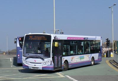 First Cymru 44590 - YX63ZVH - Bridgend (bus station)