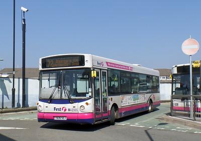 First Cymru 42335 - T635SEJ - Bridgend (bus station)