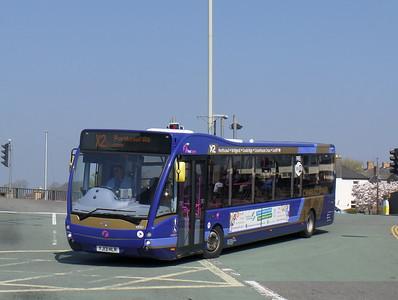 First Cymru 49301 - YJ13HLR - Bridgend (bus station)