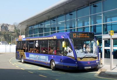 First Cymru 49302 - YJ13HLU - Bridgend (bus station)
